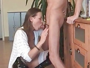 drilling the lady down the gullet