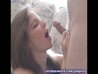 cumshots swallowing woman lorsha