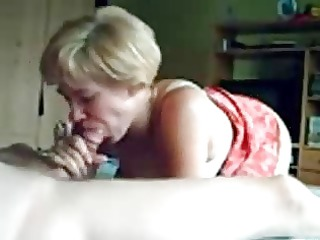 french fresh woman smiles whilst banging