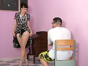 ass tasting hot milfs in nylons