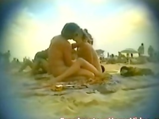 nudist sea coast wife blowing in outside