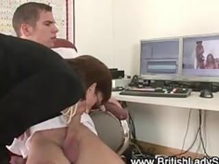 european older  chick handjob