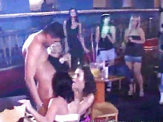group sex party! mothers daughters licking dick